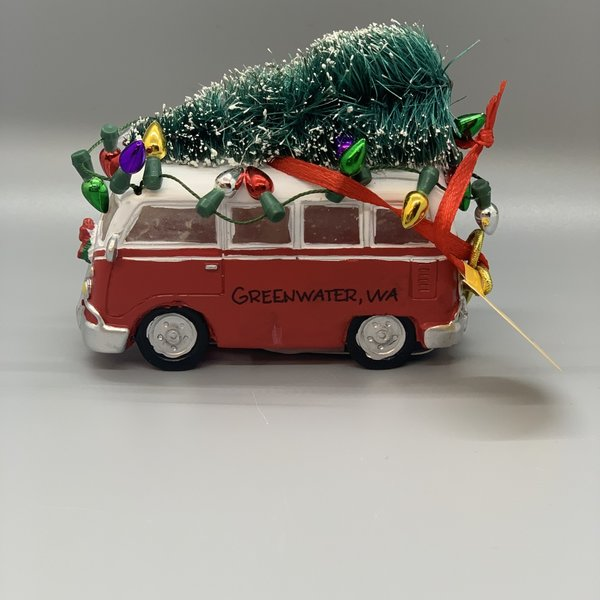 VW Bus Ornament (Light Up)