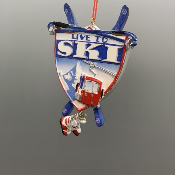 Born to Ski Ornament