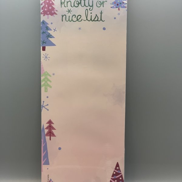 Christmas / Winter notepads with magnet