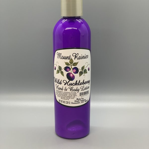 Wild Huckleberry Hand and Body Lotion- 8oz.