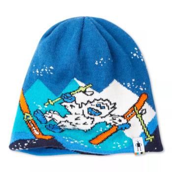 Smartwool Kid's YO Yetti Hat- LXL Alpine Blue