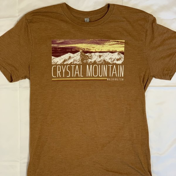 Crystal Mountain Clothing and Collectables Forgotten Time Crystal Mountain Tee
