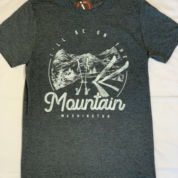 I'll Be At The Mountain Tee