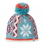Smartwool Smartwool- Kid's Snowflake Beanie- LXL Nile Blue