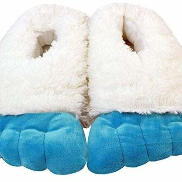 """Abominable Snowman Slippers 8"""""""