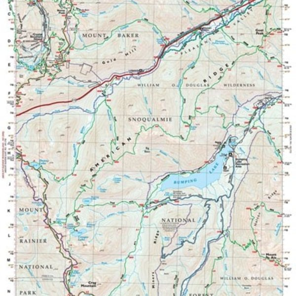 Green Trails Map No 271 (Bumping Lake, WA)