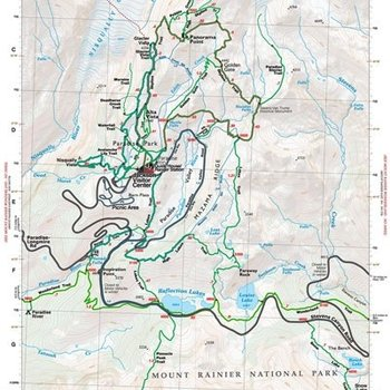 Green Trails Map No 270S (Paradise, WA)