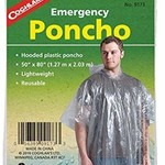 Coghlan's Adult Clear Poncho