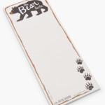 The Bear Facts Magnetic Notepad