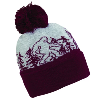 Turtle Fur Turtle Fur- Kids Great State Pom Beanie (Bigfoot)