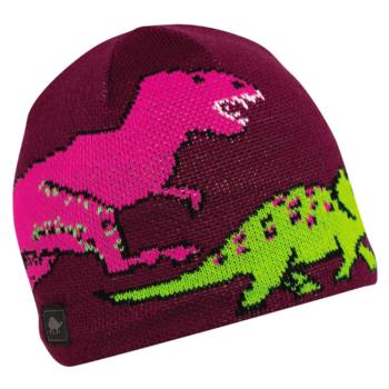 Turtle Fur Turtle Fur- Kids Jurassic Knit Beanie (Berry)