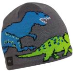 Turtle Fur Turtle Fur- Kids Jurassic Knit Beanie (Gray)