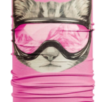 Turtle Fur Turtle Fur- Totally Tubular Cool Kitty Neck Tube (Small)