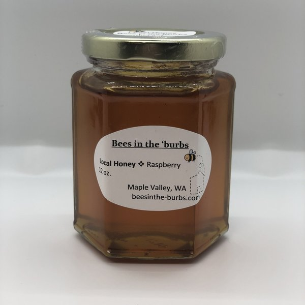 12oz Glass Jar of Honey