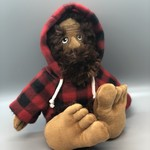 Bigfoot Sasquatch w/ jacket - 10""