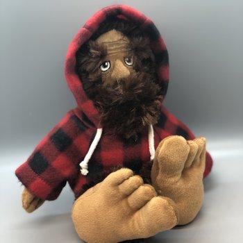 """Bigfoot Sasquatch w/ jacket - 10"""""""