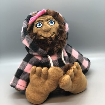 Bigfoot Shesquatch w/ jacket - 10""