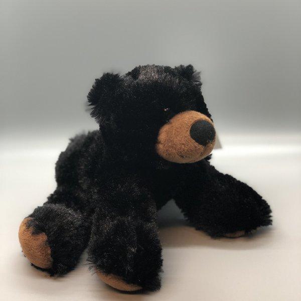 "Floppy Black Bear - 7"""