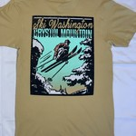 Crystal Mountain Clothing and Collectables Vintage Crystal Mountain Ski Poster Tee