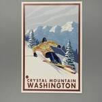 CM Downhill Snow Skier NC