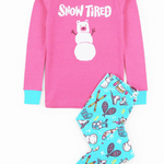 Winter Traditions Kids Applique PJ Set