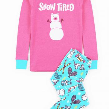 Winter Traditions Kids Applique PJ Set