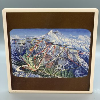 Crystal Mountain Ski Run Trail Map - Coaster