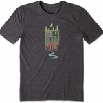 LIFE IS GOOD Hike Into the Wild  T-Shirt