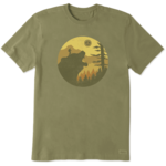 LIFE IS GOOD Into the Wild Bear T-Shirt