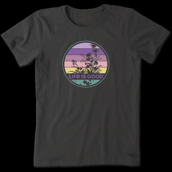 LIFE IS GOOD Retro Wildflower T-Shirt
