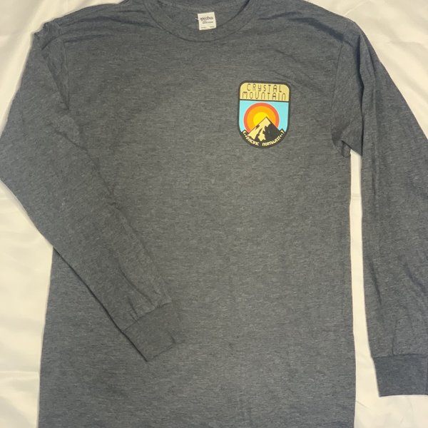 Crystal Mountain Clothing and Collectables Bi-Blend Long Sleeve Crystal Mountain Pacific