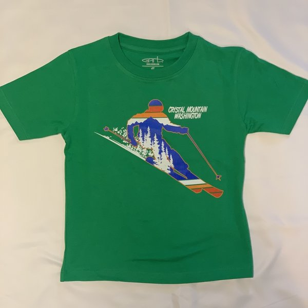 Crystal Mountain Clothing and Collectables Kid's Toni T Crystal Mountain Shirt