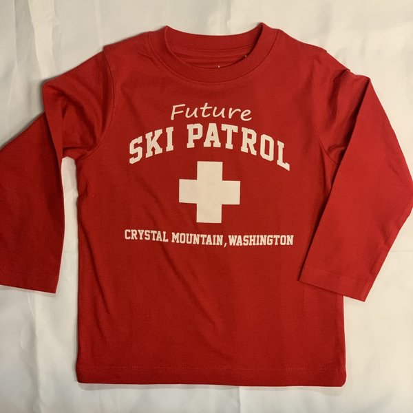 Crystal Mountain Clothing and Collectables Toddler Lane Ski Patrol Tee