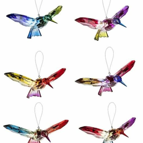 "7"" Rainbow Hummingbird (Acrylic)"