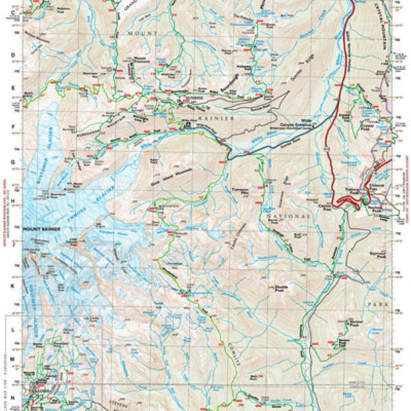 Mt.Rainier East Map No 270