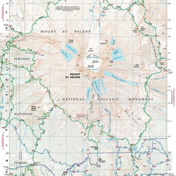 Mt. St. Helens Climbing No. 364S