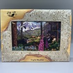 Crystal Mountain Clothing and Collectables 4x6 Polybirch Frame - Crystal Mountain Skier