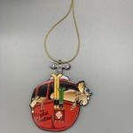 Crystal Mountain Clothing and Collectables Gondola Moose Relief Ornament
