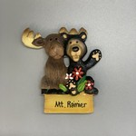Mt. Rainier Mooseberry Friends Magnet