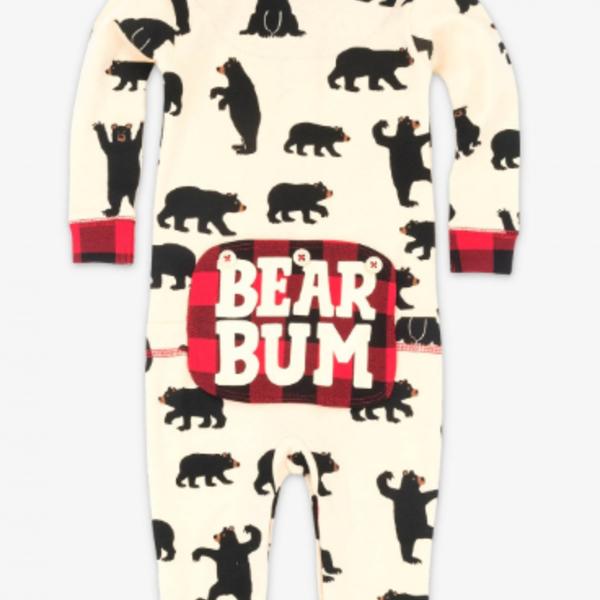 Black Bear Union Suit