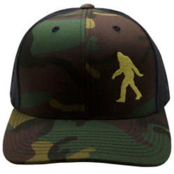 Sasquatch Silhouette Trucker Hat