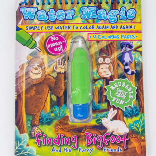 Finding Bigfoot Water Magic