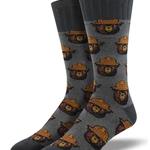 Smokey the Bear Socks - Adult