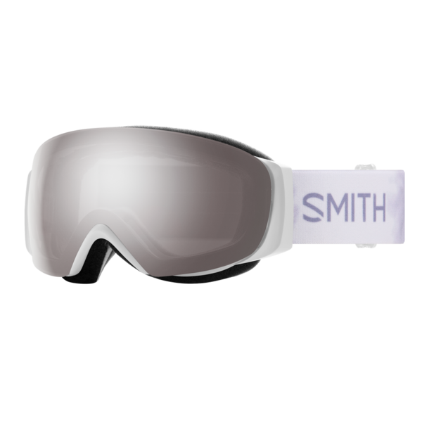 Smith I/O Mag S  White Florals w/ ChromaPop Sun Platinum Mirror/ChromaPop Storm Rose Flash