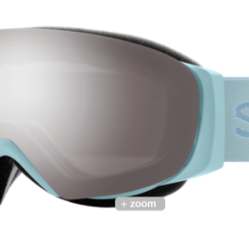 Smith I/O Mag S Polar Blue w/ ChromaPop Sun Platinum Mirror/ChromaPop Storm Rose Flash