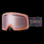 Smith Drift - Salmon Bedrock  w/ Ignitor Mirror Lens