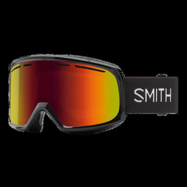 Smith Range - Black w/ Red Sol-X Mirror Lens