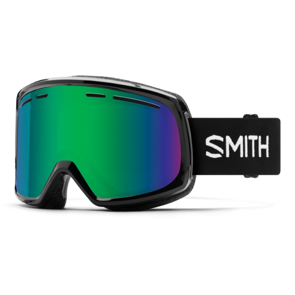 Smith Range - Black w/ Green Sol-X Mirror Lens