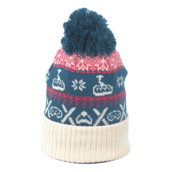 Nordic Chairlift Beanie w/ Wapiti Outdoors Patch