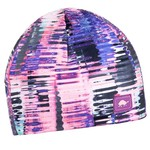 Turtle Fur Comfort Shell Hidden Pony Tail Print Beanie